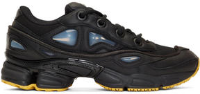 Raf Simons Black adidas Originals Edition Ozweego III Sneakers