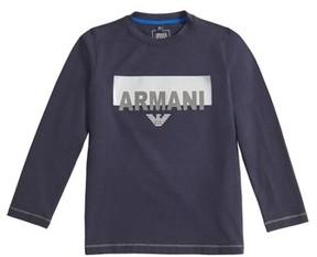 Armani Junior Boy's Logo Graphic T-Shirt