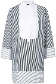 Barbara Bui striped print mini dress