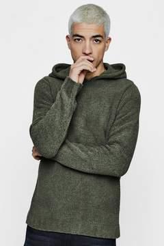 boohoo Knitted Hoodie