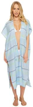 Echo Sunset Stripe Midi Cover-Up Women's Swimwear