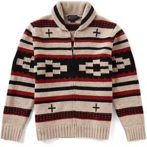 Pendleton Full-Zip Shawl Collar Cardigan