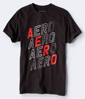 Aeropostale Repeating Logo Graphic Tee