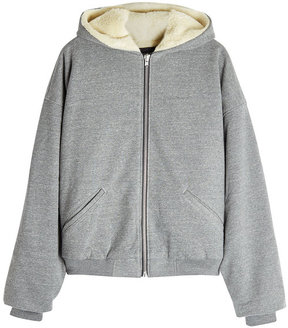 Fear Of God Hoodie with Wool and Alpaca-Blend Lining