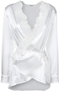 Dondup lace trim blouse