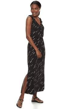 Apt. 9 Women's Ruffle Maxi Dress