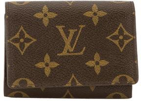 Louis Vuitton Monogram Canvas Business Card Holder - BROWN - STYLE