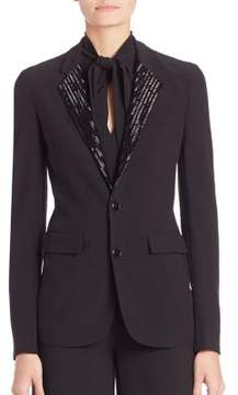 Ralph Lauren Collection Yvette Embellished Blazer
