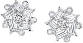 Crislu Couture CZ Star Stud Earrings