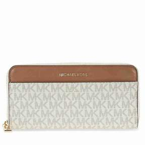 Michael Kors Mercer Signature Logo Wallet - Vanilla - AS SHOWN - STYLE