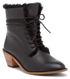 Kelsi Dagger Brooklyn Kingsdale Faux Fur Lined Leather Boot