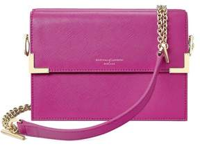 Aspinal of London | Chelsea Bag In Orchid Saffiano | Orchid saffiano