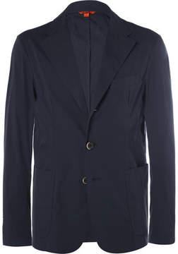 Barena Blue Unstructured Cotton Blazer