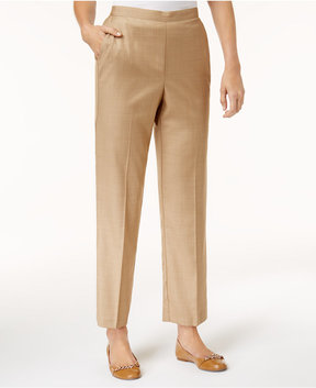 Alfred Dunner Emerald Isle Straight-Leg Pull-On Pants
