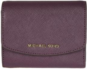 MICHAEL Michael Kors Trifold Ava Wallet - VIOLA - STYLE