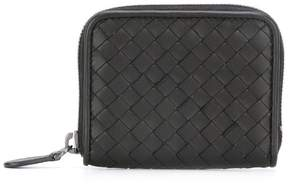 Bottega Veneta interlaced leather zipped wallet