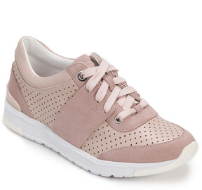 Foot Petals Blush Bea Leather Sneaker - Women