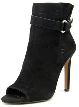 BCBGeneration Carolena Women US 7.5 Black Peep Toe Ankle Boot