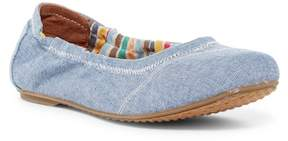 Toms Chambray Ballet Flat (Little Kid & Big Kid)