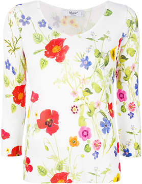 Blugirl poppy print top