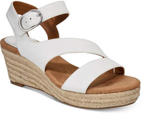 Style&Co. Style & Co Women's Xenaa Platform Espadrille Wedge Sandals, Created for Macy's Women's Shoes