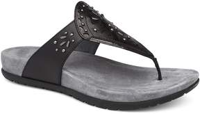Dansko Benita Stud Laser Cut Out Thong Sandals
