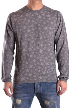 Hydrogen Men's Grey Cotton Sweatshirt.