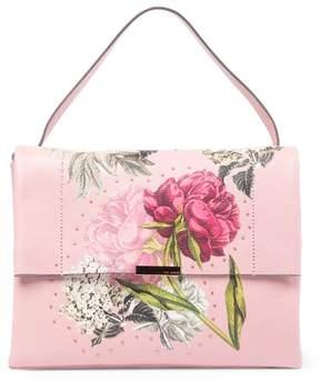 Ted Baker Peonii Palace Gardens Leather Shoulder Bag