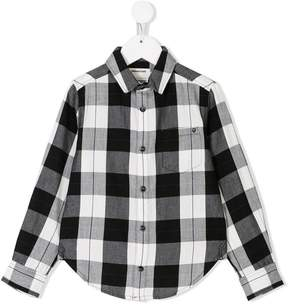Zadig & Voltaire Kids checked flannel shirt