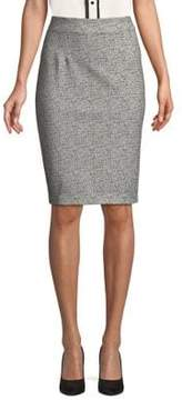 Ellen Tracy High-Rise Pencil Skirt