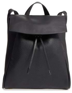 Skagen Ebba Leather Backpack - Black