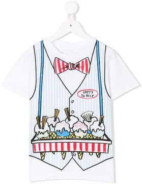 Stella McCartney ice-cream waistcoat print T-shirt