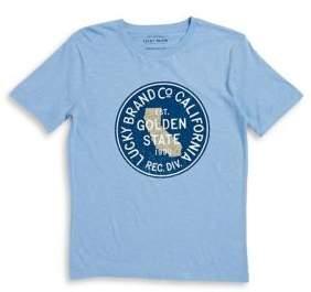 Lucky Brand Boy's Graphic Cotton Shirt