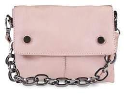 Kooba Dante Mini Leather Crossbody Bag