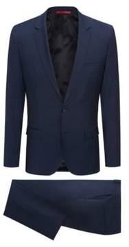 HUGO Boss Italian Wool Suit, Extra Slim Fit Arti/Hesten 46L Open Blue