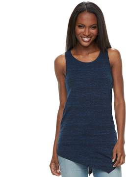 Apt. 9 Women's Asymmetrical Textured Tank