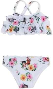 MonnaLisa Jungle Book floral print bikini