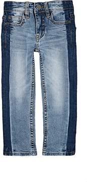 Molo Kids Kids' Two-Tone Straight Jeans