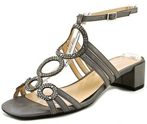 J. Renee Terri N/s Open Toe Canvas Sandals.