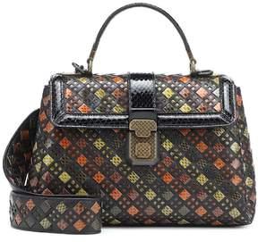 Bottega Veneta Small Piazza leather shoulder bag