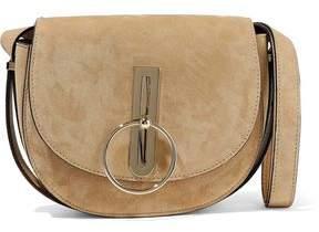 Nina Ricci Compas Suede Shoulder Bag