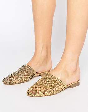 Asos MARBLES Woven Mules