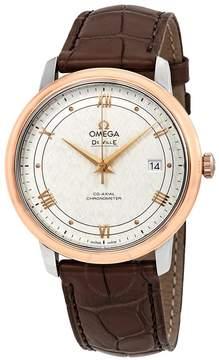 Omega De Ville Prestige Automatic Silver Dial Men's Watch