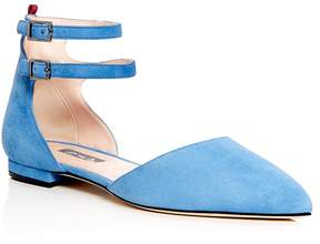 Sarah Jessica Parker Consume d'Orsay Pointed Toe Flats - 100% Exclusive