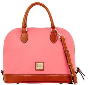 Dooney & Bourke Pebble Grain Zip Zip Satchel - BUBBLE GUM - STYLE
