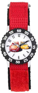 Disney Pixar Cars 3 Lightning McQueen & Cruz Ramirez Kids' Time Teacher Watch
