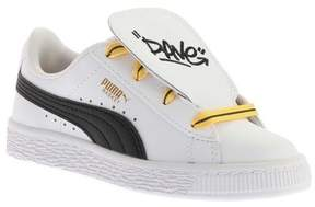 Puma Unisex Children's Minions Basket Tongue PS Sneaker