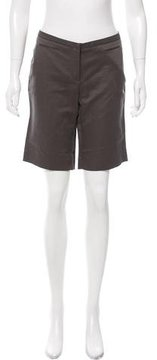 CNC Costume National Woven Knee-Length Shorts