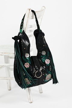 Monarch Embroidered Hobo by Free People