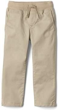 Gap Pull-on twill pants